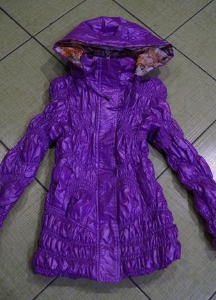 Куртка на девочку 8-9 лет
