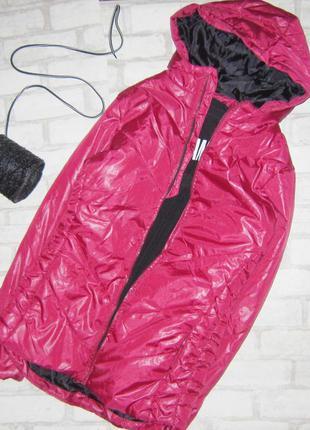 Шикарная куртка  зефирка капюшоном, трендового цвета 2020