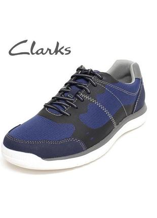 Clarks ● 29,5см ●  легкие, мужские спортивные туфли, кроссовки...