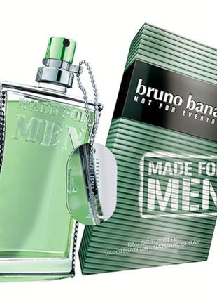 Bruno banani made for men 50 мл мужская туалетная вода аромат ...