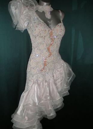 """Платье """"ЛАТИНА"""" для бальных танцев."""