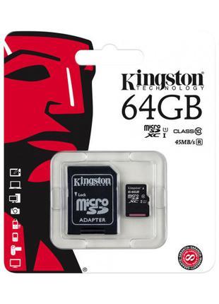 Карта памяти Kingston 64 гб