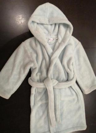 Детский махровый халат 6-8 лет, турция