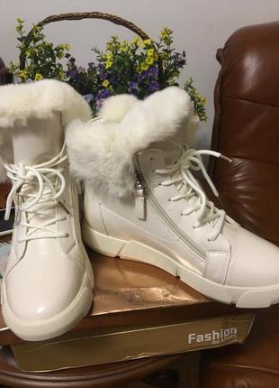 Стильные,модные зимние ботинки