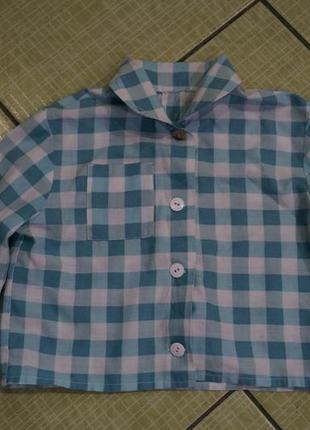 Рубашка на мальчика 1 годик