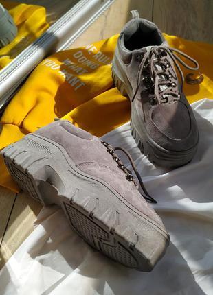 Женские ботинки/кроссовки на платформе 😍
