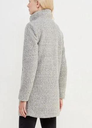 Бобмезное пальто кокон, oversize