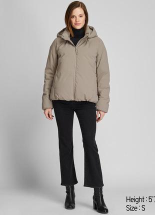 Женская зимняя куртка пуховик uniqlo