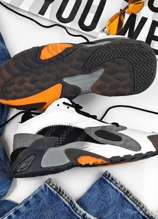 Adidas streetball black white, мужские кроссовки адидас,весна-...