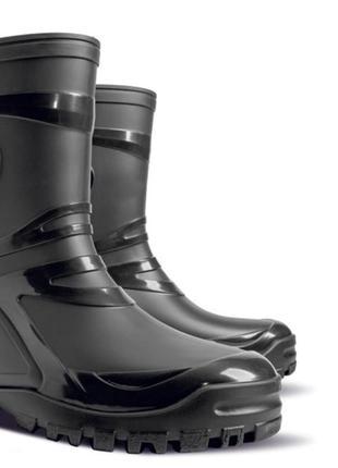 Чёрные стильные резиновые сапожки, сапоги женские 36, 37, 38, ...