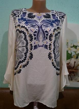Шикарная блуза р.8,бренд h&m