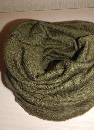 Шерстяной баф шарф