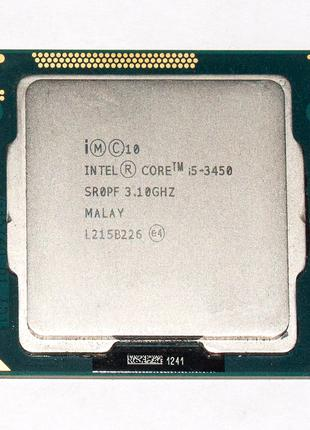 Процессор Intel Core i5-3450 3.1-3.5GHz 6MB Cache LGA 1155 Tray