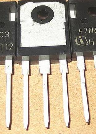 Транзистор SPW47N60C3 N-Channel MOSFET 600V, 47A, 0.07Ω