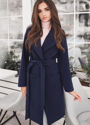 Шикарное кашемировое пальто осеннее класическое