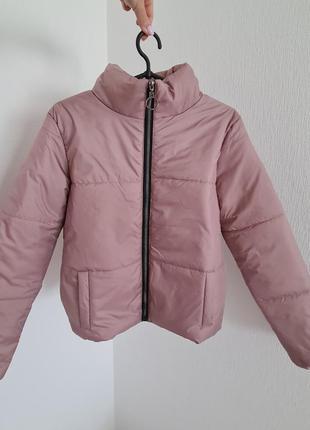 Новая демисезонная зефирная дутая куртка