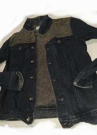 Джинсовый пиджак,куртка,жакет