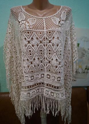 Шикарная блуза-накидка  ,бренд george