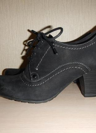 Туфли ботинки marco tozzi р.37 (24см) кожа