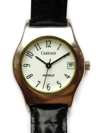 Carriage by timex c55812 классические часы из сша кожа дата in...