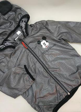 Курточка ветровка микки маус демисезонная куртка h&m 1.5-2 года