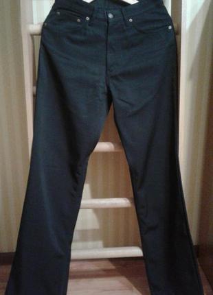 Levi's levi strauss мужские брюки штаны джинсы утепленные черные
