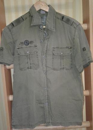 Raw design рубашка мужская