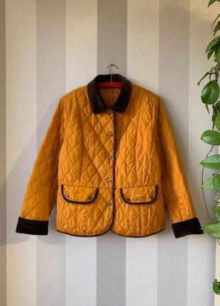 Стеганая демисезонная куртка donnell!