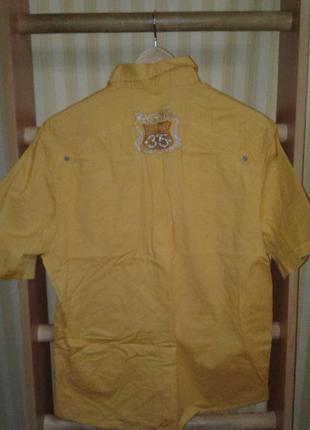Мужская рубашка с коротким рукавом by alim's