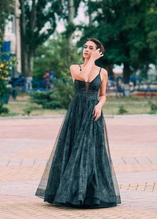 Вечернее платье выпускное платье