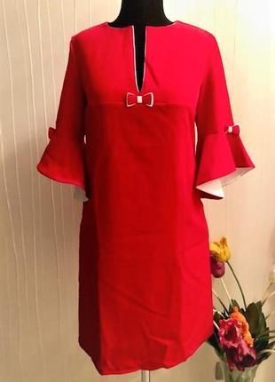 Платье а–образного силуэта, есть большие размеры