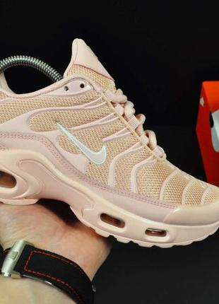 Кроссовки nike air max tn plus пудра
