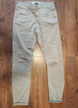 Песочные джинсы only xs