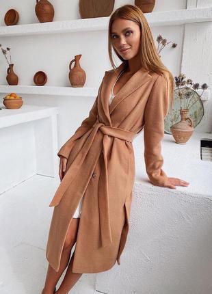 Женское пальто кашемир #5276