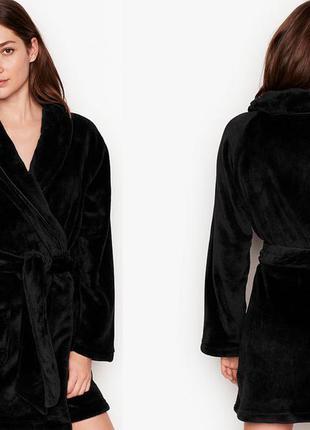 Халат victoria's secret logo short cozy robe оригинал