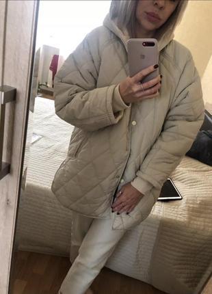 Куртка -пальто большой размер zara