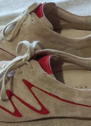 Кросівки замшеві туфлі
