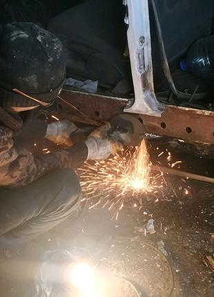 Сварочные работы любой сложности.Изготовление  металлоконструкций