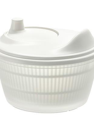 Сито . Сушилка для салата, зелени, белый. Икеа