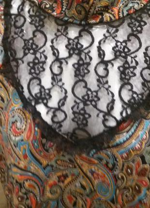 Стильное платье на 46\48р спинка -сеточка турция   п7