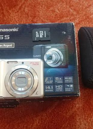 Фотокамера Panasonic Lumix DMC-LS5.