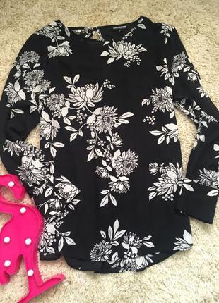 Цветочная блуза debenhams блузка