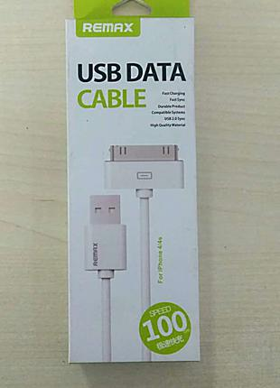 Кабель, шнур, зарядка 30-pin USB для iPhone 4, 4s, iPad 1,2,3