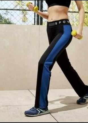 Спортивные эластичные женские штаны crivit, германия, рр. s,m