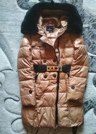 Зимний плащ aoweelia, пуховик, пальто, зимовий плащик