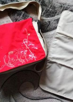 Сумка мессенджер lassig для детских вещей, термосумка на коляску