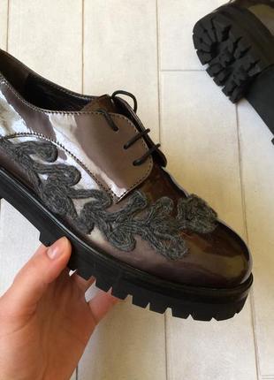 Attilio giusti leombruni кожаные ботинки,туфли,оксфорды оригин...