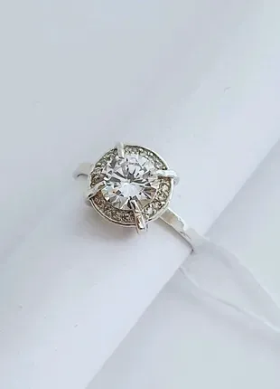 Серебряное кольцо, серебро 925 проба