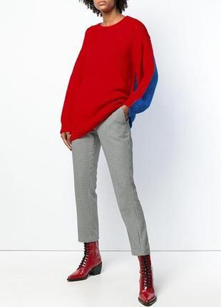 Шерстяной свитер оверсайз джемпер кофта пуловер greenfield