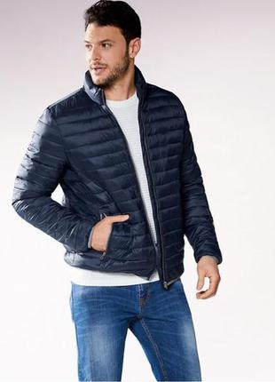 Демисезонная стеганая куртка мужская р.евро l 52 livergy германия